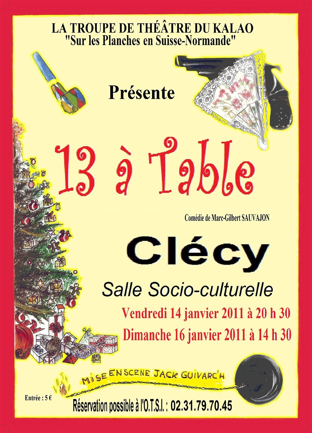 Spectacle th tre cl cy 14570 for 13 a table theatre