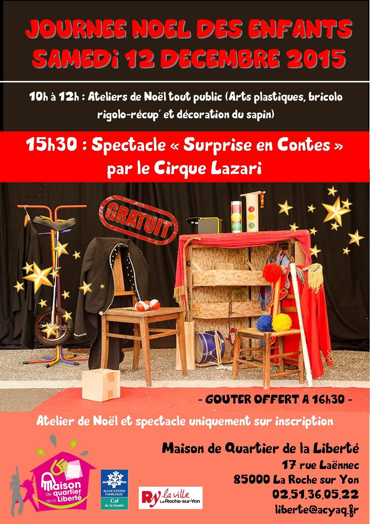 concert spectacle de fin d 39 ann e maison de quartier libert la roche sur yon 85000. Black Bedroom Furniture Sets. Home Design Ideas