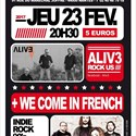 Alive3 et We come in french