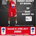 Pornic basket Saint-Michel Nationale 2 masculin reçoit Rezé