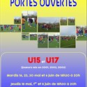 Portes ouvertes section football U15/U17