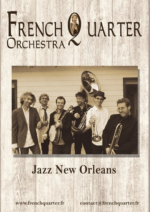 French quarter orchestra « Jazz New Orleans »