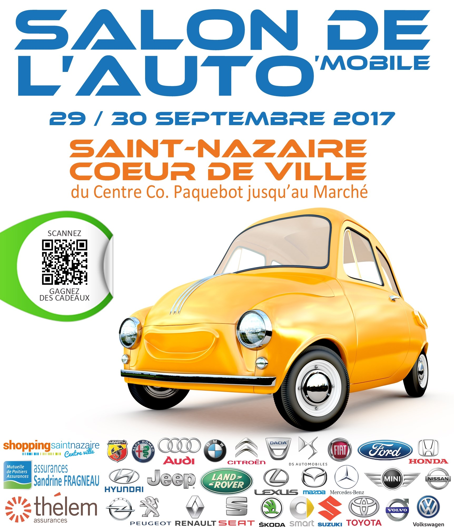 Salon de l auto saint nazaire 29 09 2017 30 09 2017 for Garage auto saint nazaire