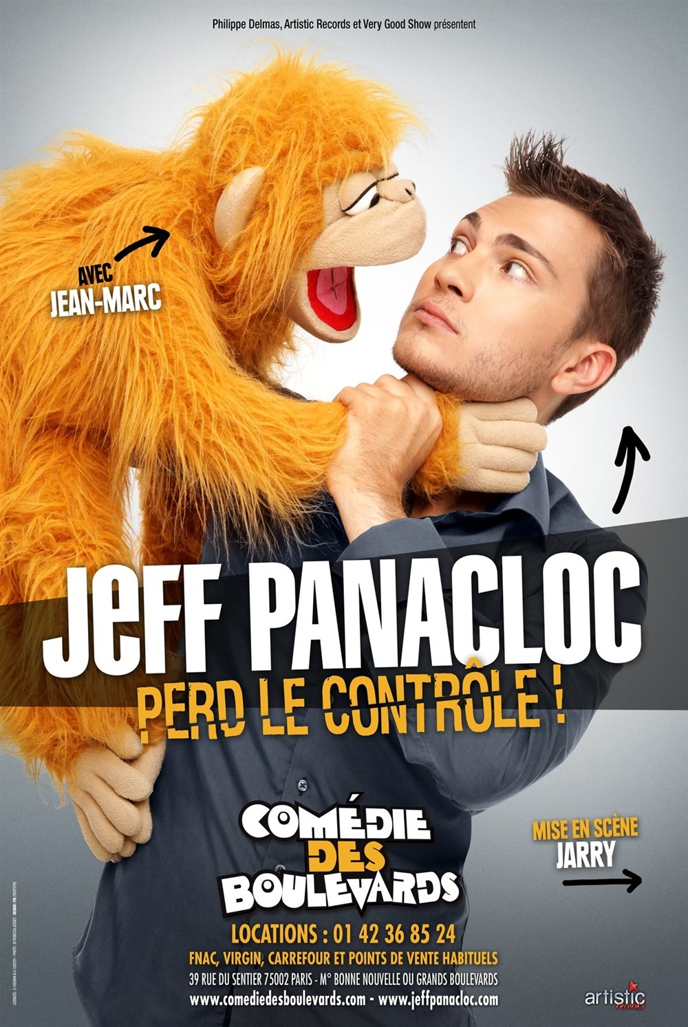Spectacle Jeff Panacloc Rennes
