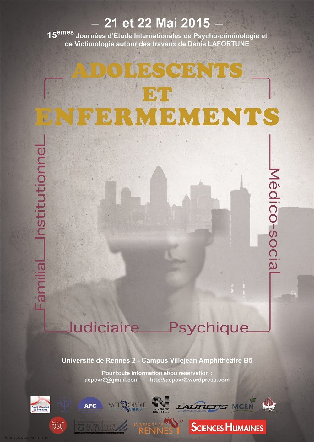 Adolescents et enfermements journées d'étude internationales Université Rennes 2