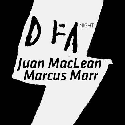 DFA night : Juan MacLean DJ set et Marcus Marr DJ set