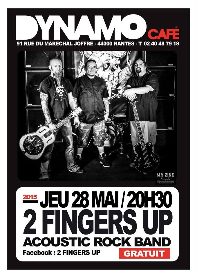 2 Fingers Up Nantes