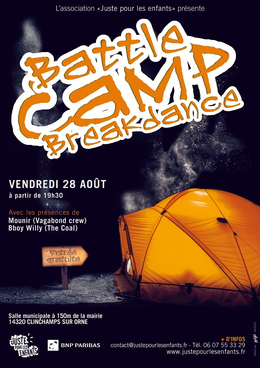 Battle camp breakdance. Clinchamps-sur-Orne