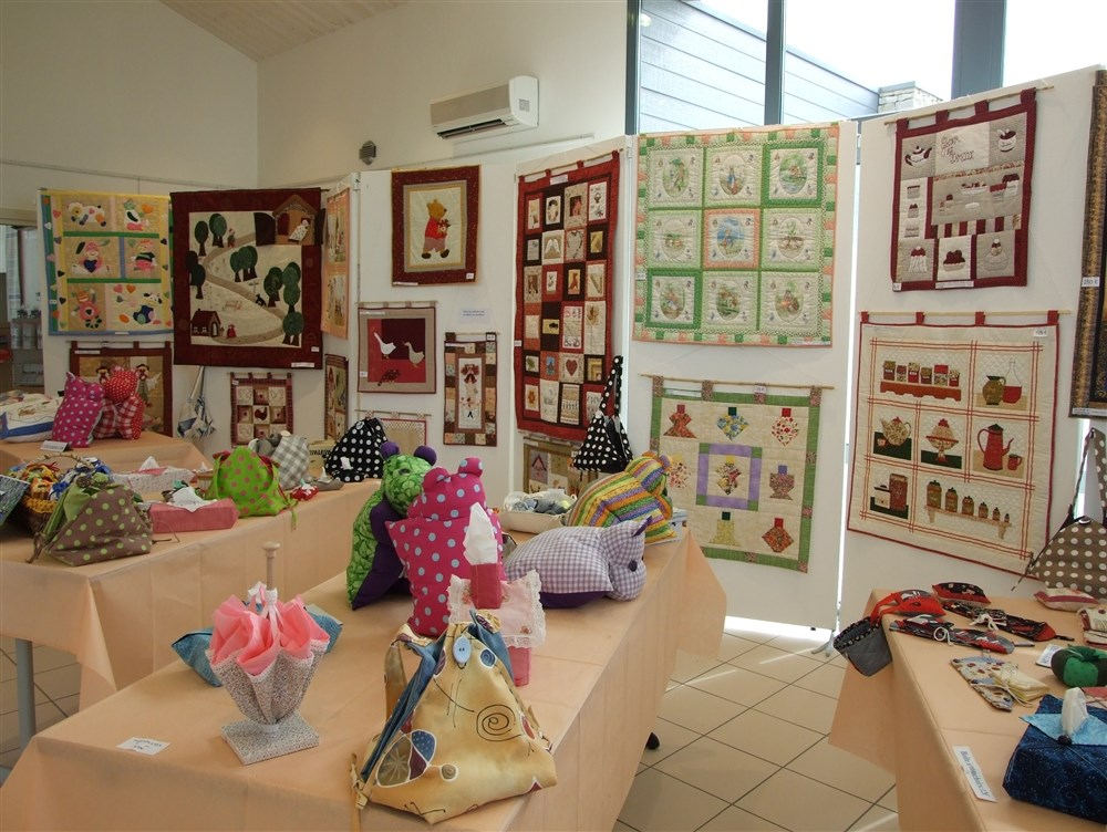 Expo-vente de patchwork traditionnel Angles