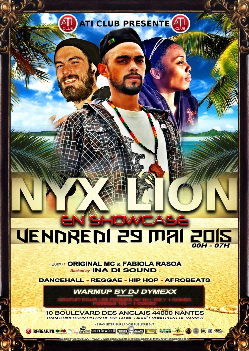 Showcase de Nyx Lion Nantes