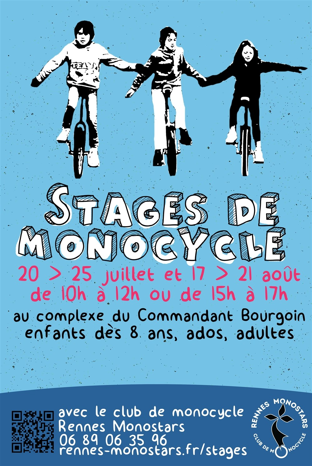 Stage de monocycle
