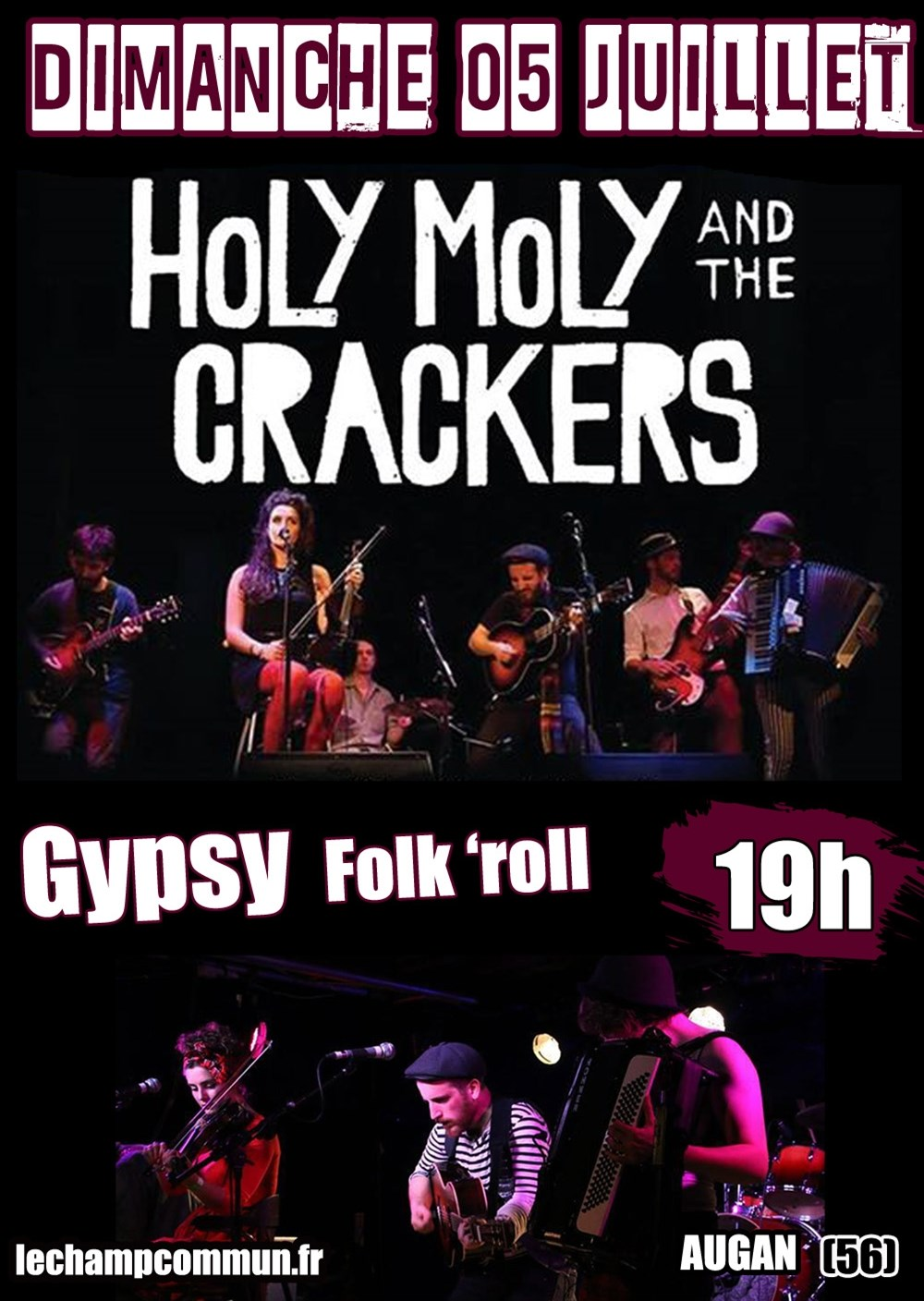 Holy Moly & the Crackers Augan