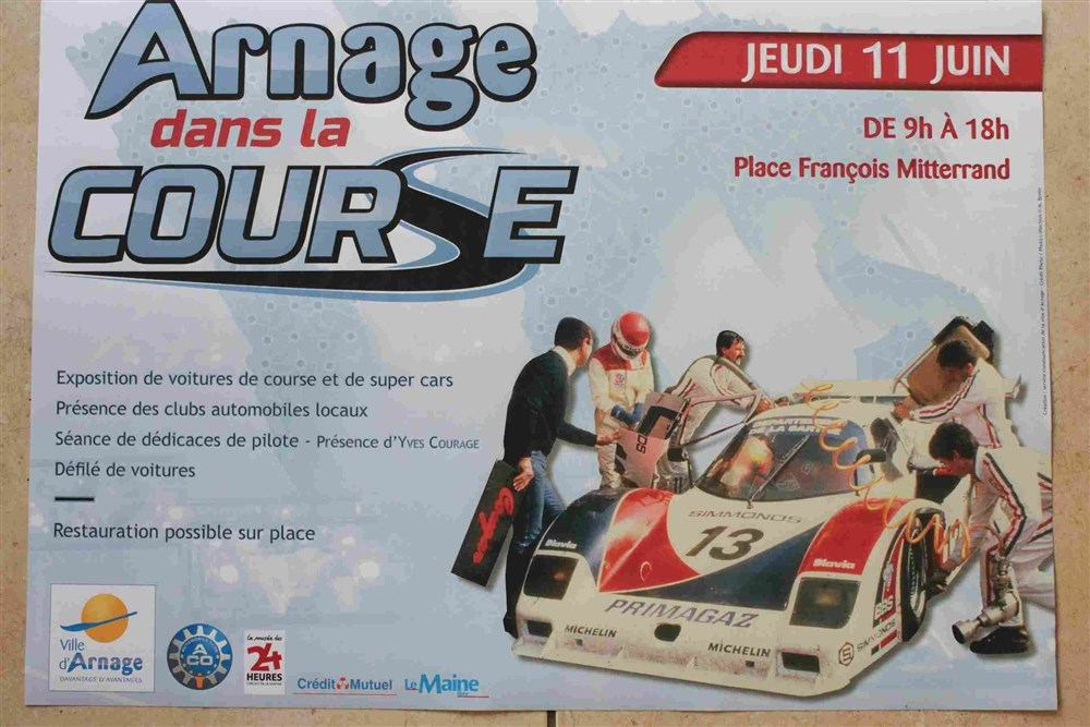 Arnage dans la course Arnage
