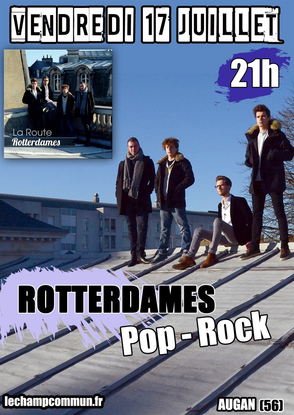 Rotterdames - pop rock Augan