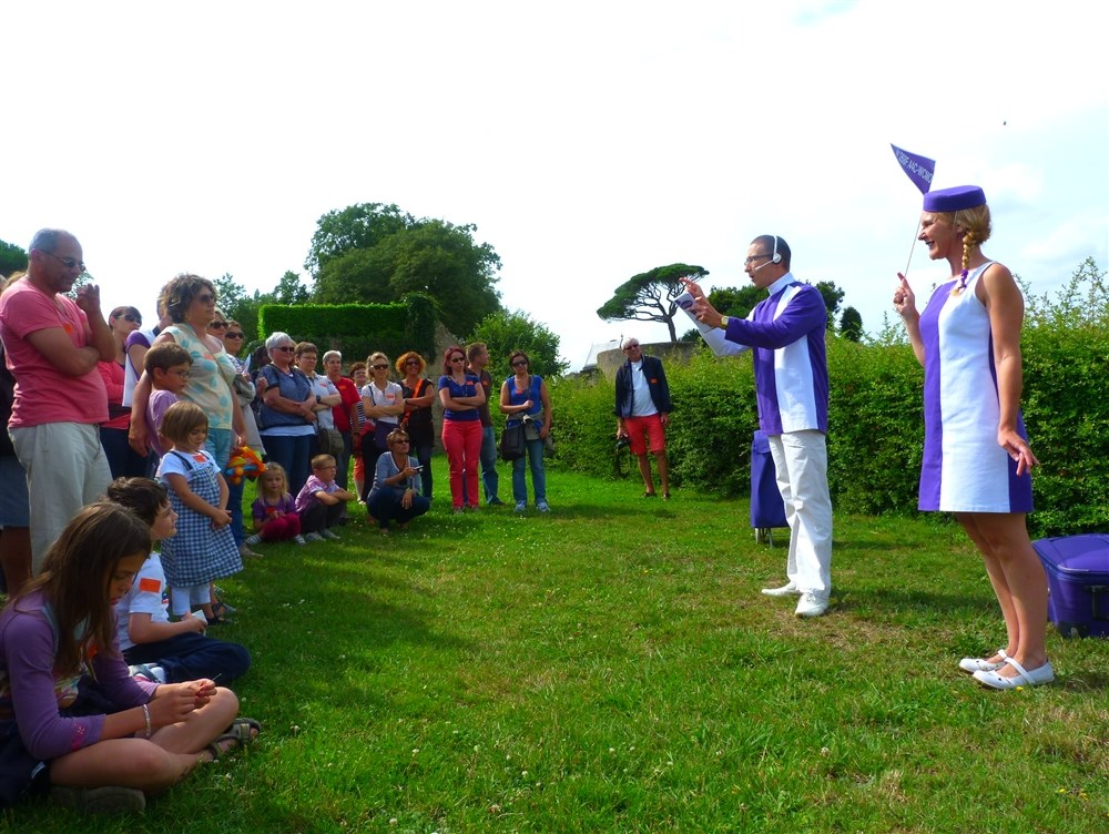 La Vit'Visite de Clisson spectacle insolite et musical Clisson 19 septembre 2015