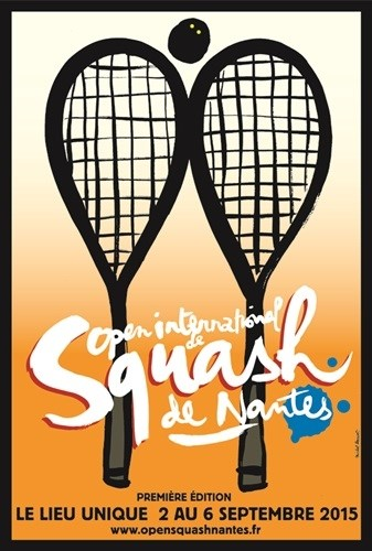 Open international de squash de Nantes Nantes