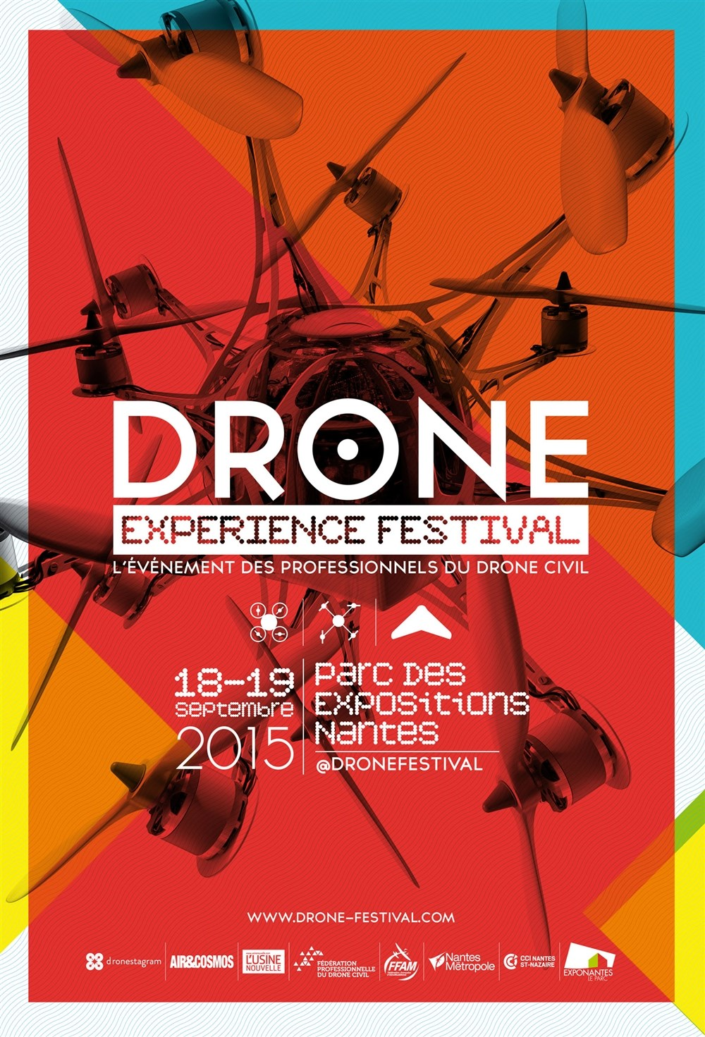 Drone experience festival Nantes