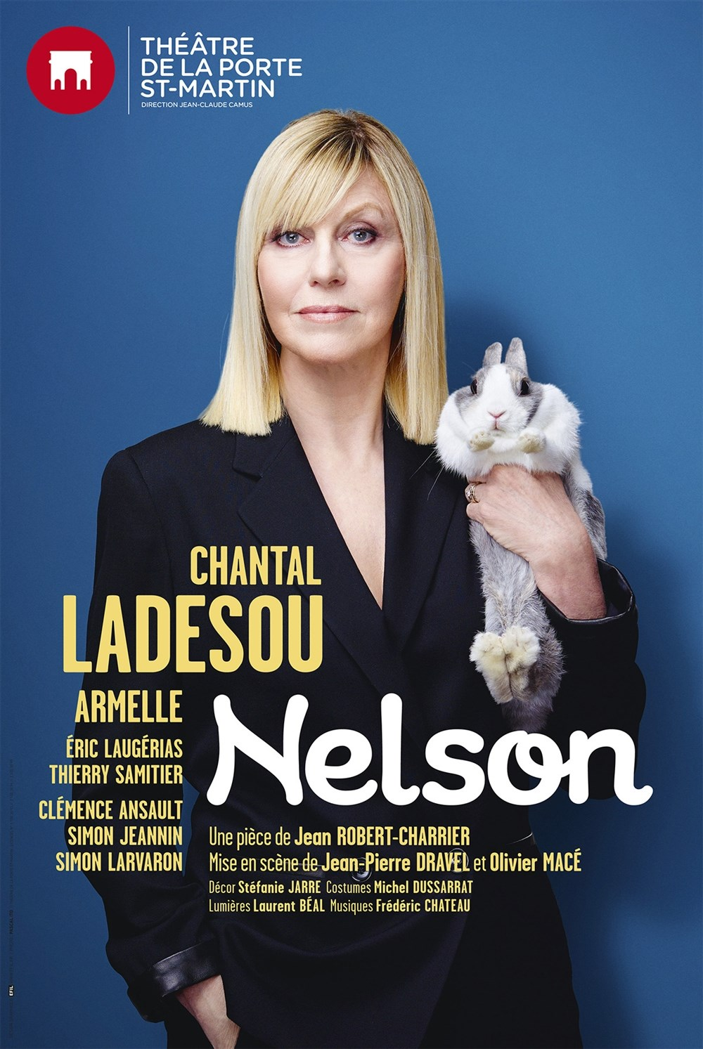 Nelson avec Chantal Ladesou Nantes
