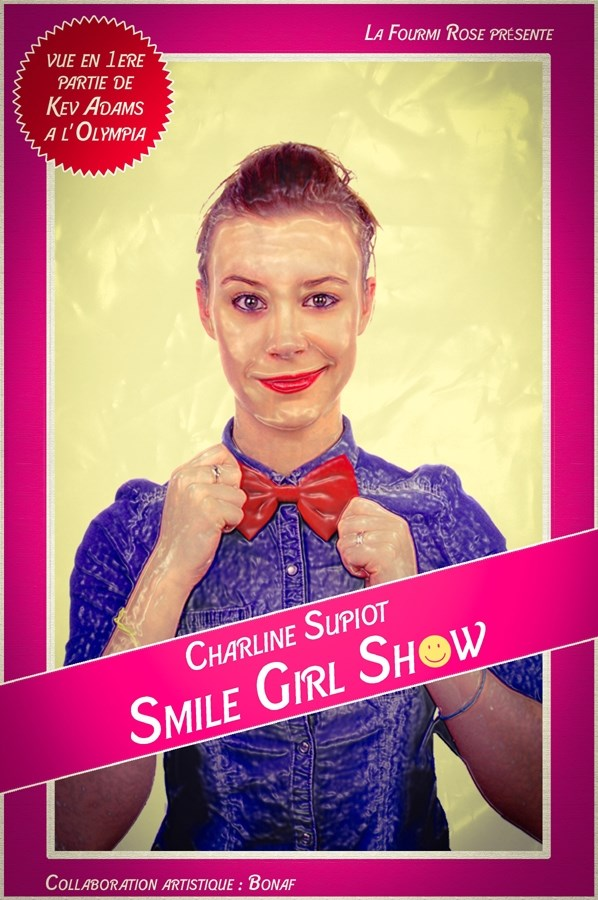 Charline Supiot Smile Girl Show Nantes
