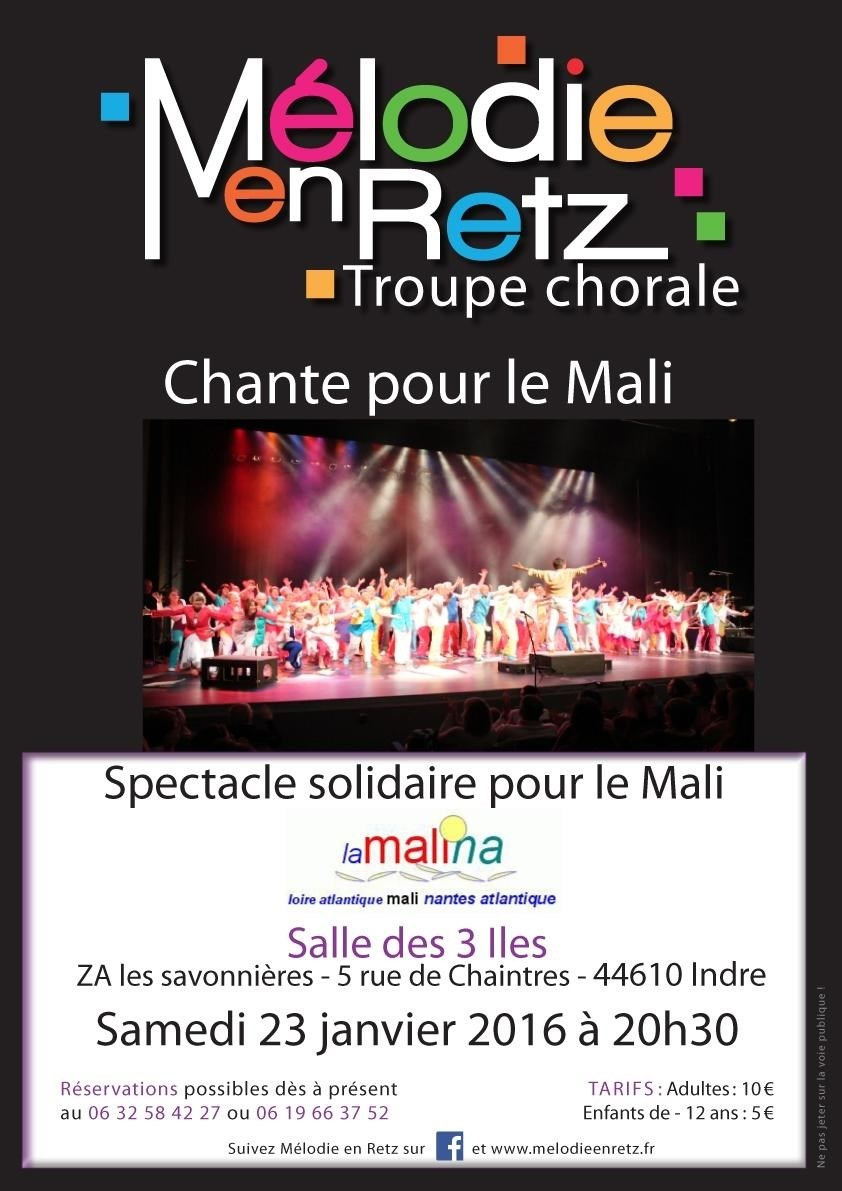 Spectacle solidaire Indre