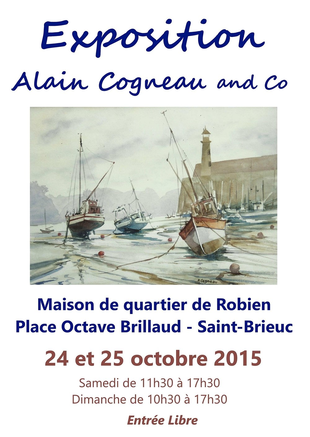 Exposition Alain Cogneau and co