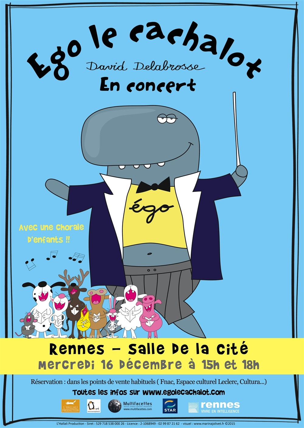 Ego le cachalot Rennes