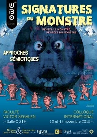 Colloque international : Signatures du monstre Brest