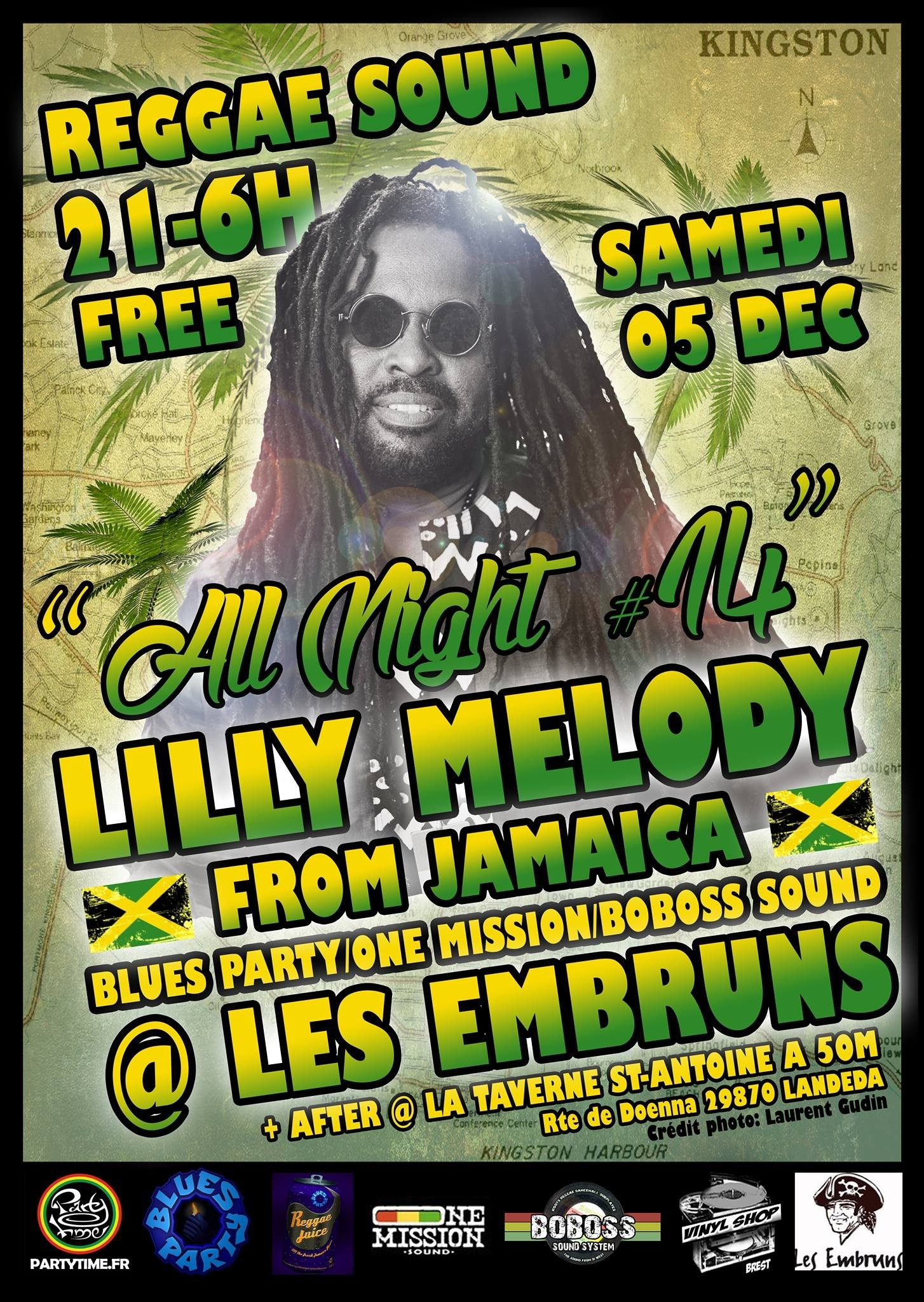 Lilly Melody & Blues Party Boboss Sound One Mission Landéda