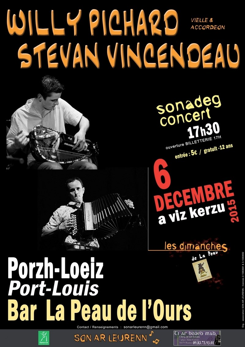 Willy Pichard et Stevan Vincendeau Port-Louis