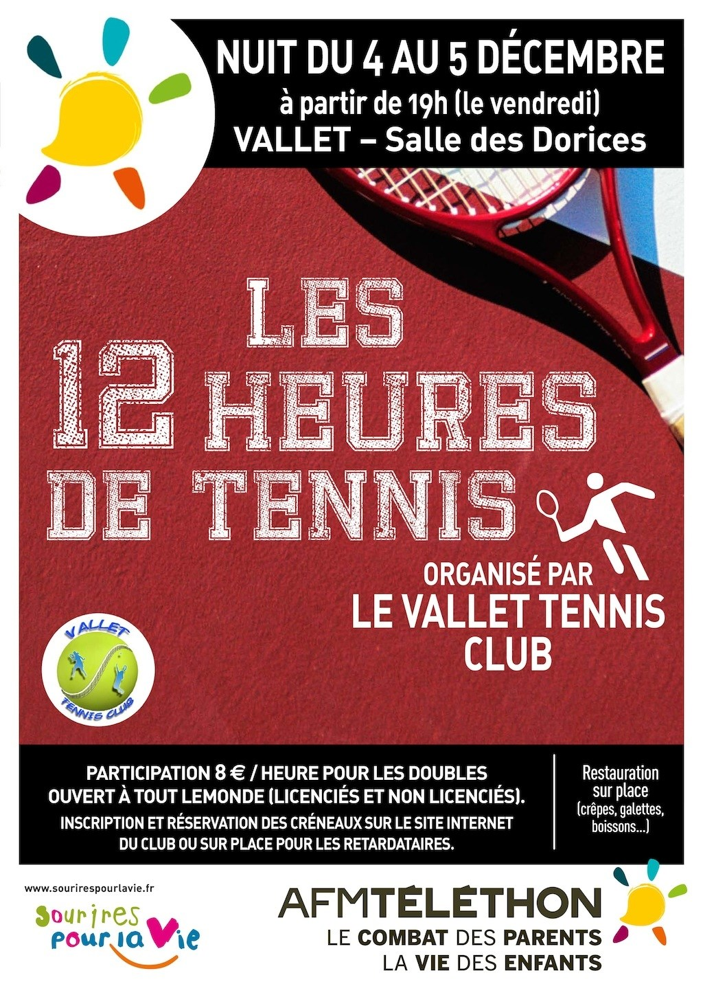 Tournoi de tennis Vallet