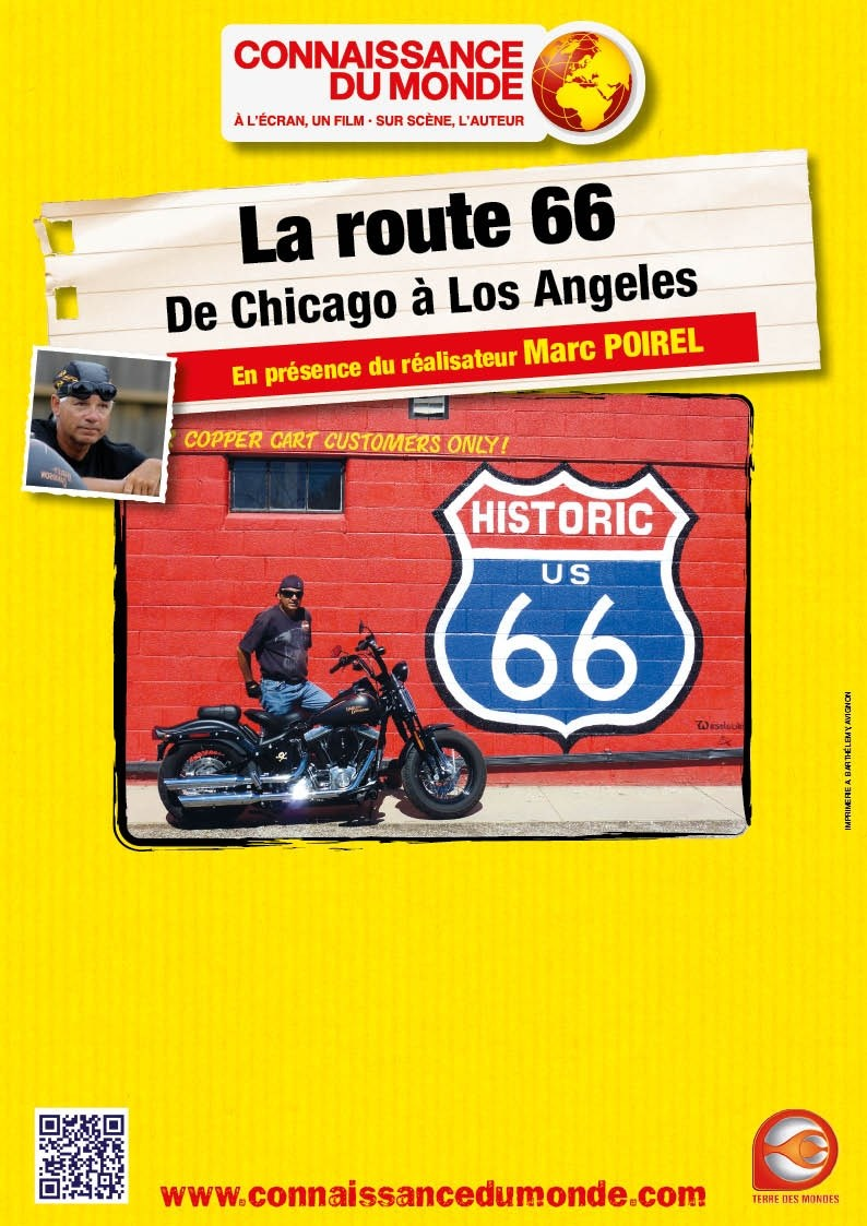 La route 66 De Chicago à Los Angeles Vannes