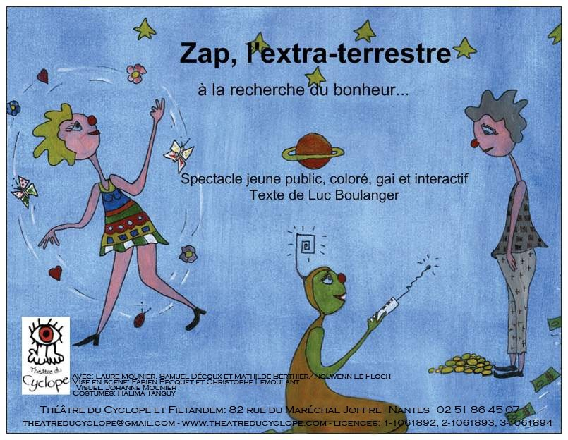 Zap l'extraterrestre