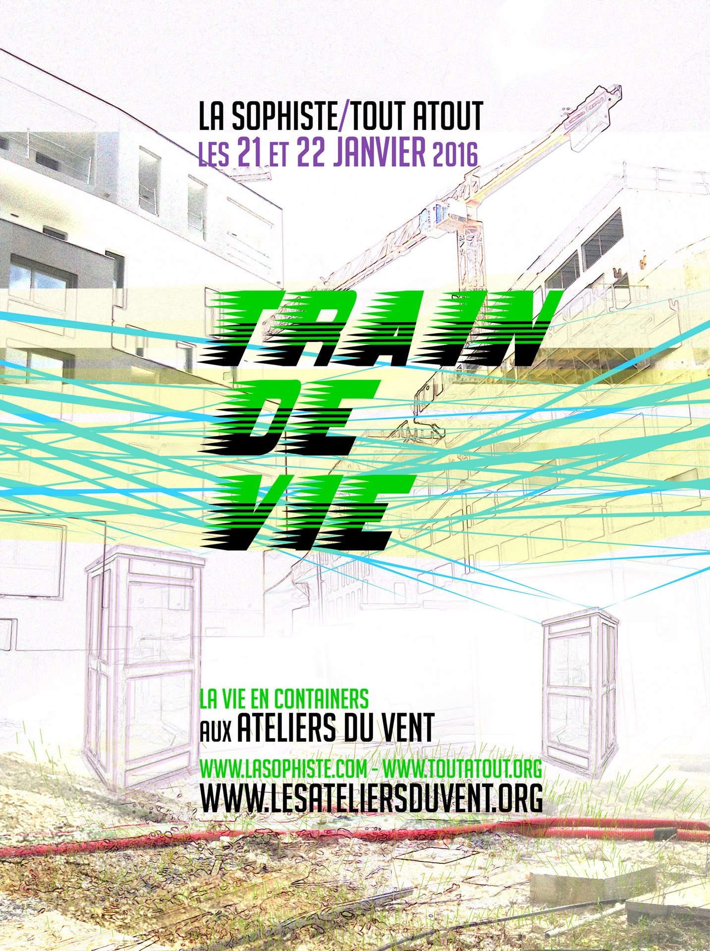 Gare participative : Train de vie