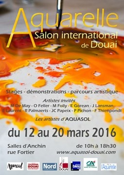 Salon d'aquarelle Douai