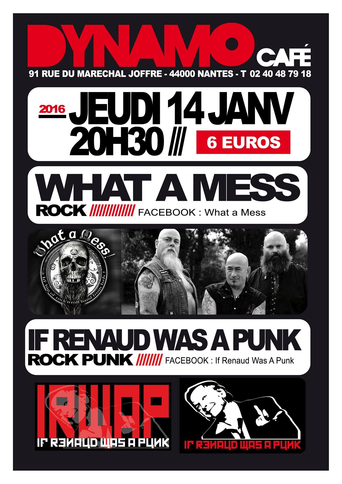 What a mess et If Renaud was a punk Nantes