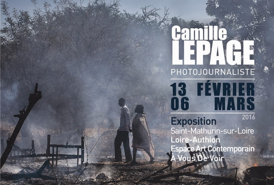 Exposition Camille Lepage photojournaliste Loire-Authion