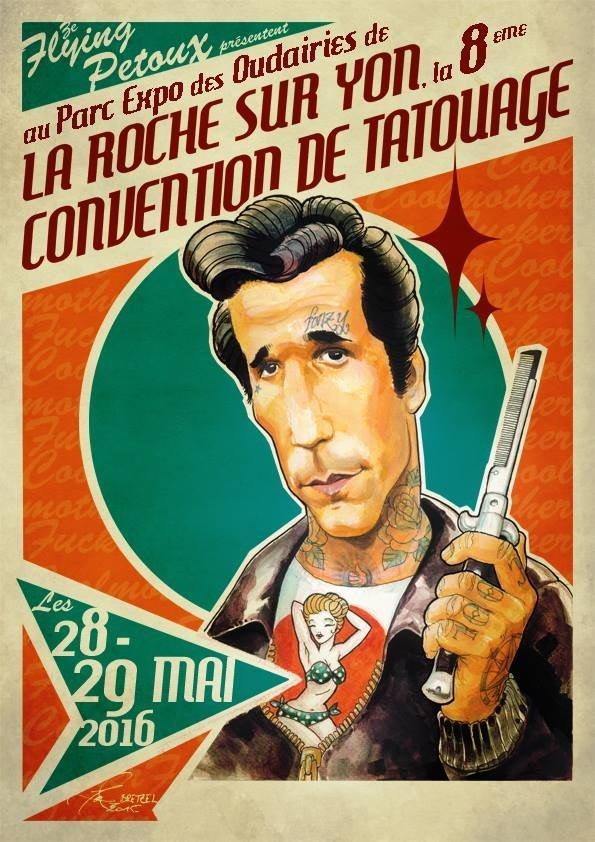 Convention Tattoo de La Roche-sur-Yon
