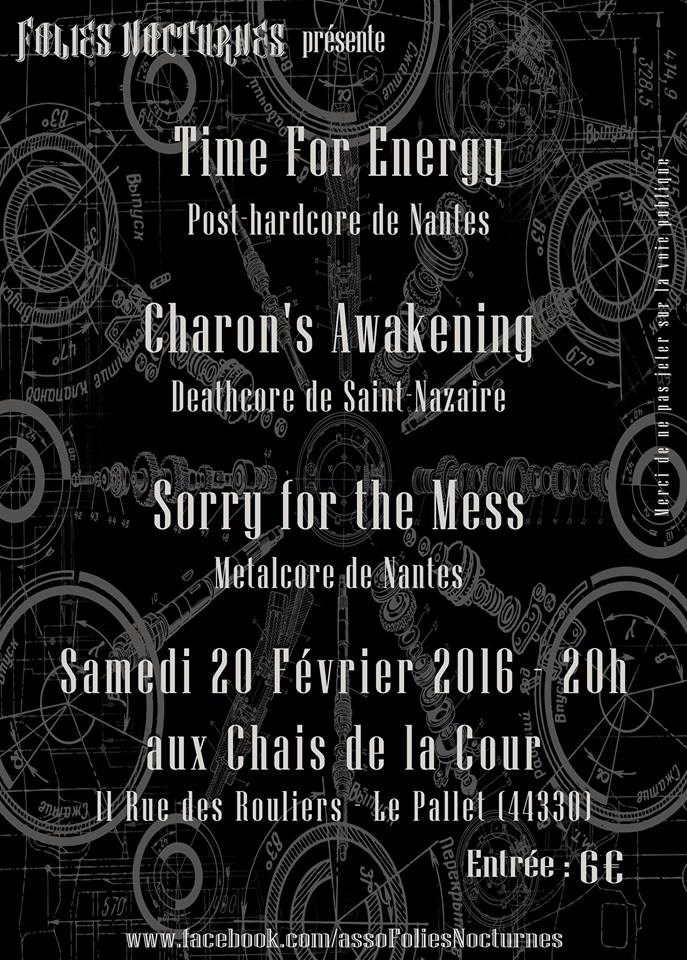Concert Metal (Time For Energy Charon's Awakening Sorry for ) Le Pallet