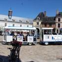 Visite en petit train touristique