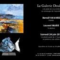 Peintures de Benoît Havard et sculptures de Laurent Marie