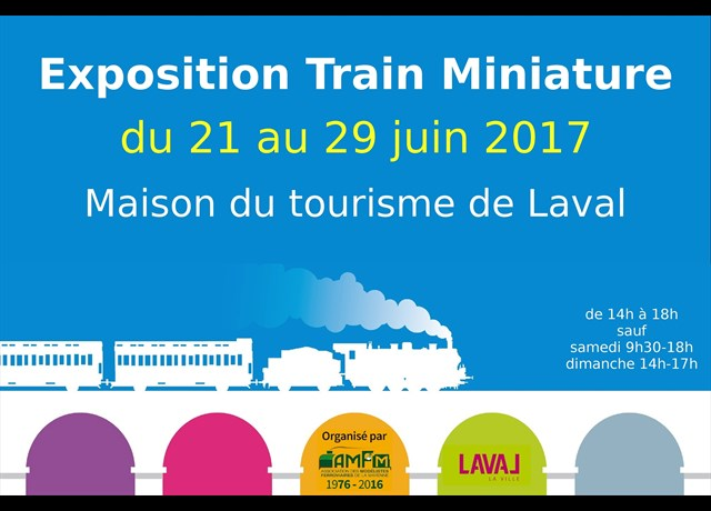 Agenda laval exposition de train miniature arriv e de for Maison du monde 29 avenue de wagram