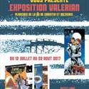 Exposition de planches de BD Valerian de Christin & Mezières