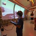 Application parcours jeu interactif à Flore
