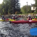Stage de kayak, en mer et rivière