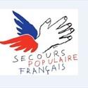 Braderie du Secours populaire français : vêtements au sac