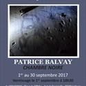 """Chambre noire"" de Patrice Balvay"
