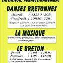 Atelier de danses bretonnes, initiation et perfectionnement