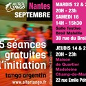 Danse tango argentin, initiation gratuite