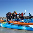 Navigation kayak gratuite au club de Châteaulin