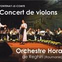 Concert de l'orchestre « Hora » de Reghin en Roumanie